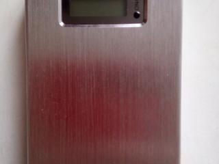 Портативний акумулятор POWER BANK ESPERANZA KINETIC 8400mAh сріблястий
