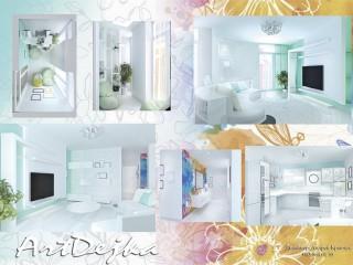 Частный дизайн интерьера и 3d визуализация за выгодной ценой