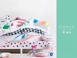 Детское и взрослое постельное белье COSAS оптом