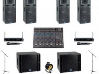 Аренда свето-звукового оборудования