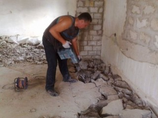 Демонтажные работы под ключ, Киев