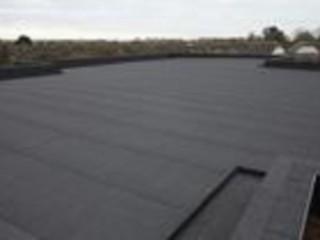 Ремонт крыши, еврорубероид