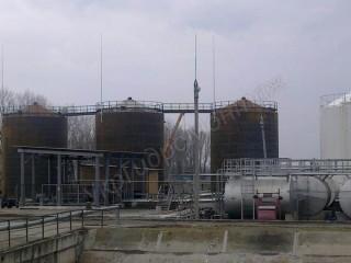 Изготовление горизонтальных резервуаров РГС, емкостей, лежементов, опор резервуара