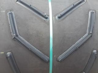 Шевронная лента конвейерная