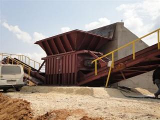 Промышленные полустационарные дробильно-сортировальные комплексы от производителя.