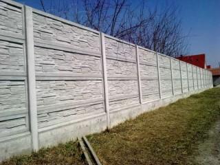 Заливка фундамента под забор. Фундамент под бетонный забор.