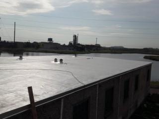 Мембранная крыша в Кременчуге