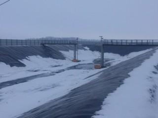 Гидроизоляция пруда, водоема в Полтаве