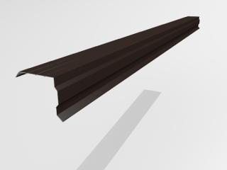 Планка торцевая ветровая под металлочерепицу