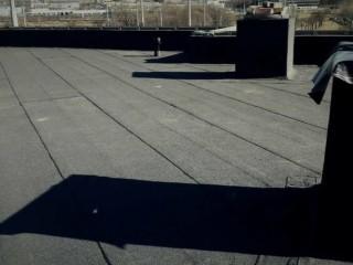 Ремонт крыши,укладка еврорубероида в Харькове