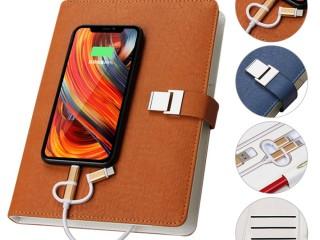 Эксклюзивный органайзер-ежедневник с зарядным устройством, подчеркнет Ваш стиль и уникальность на 100%