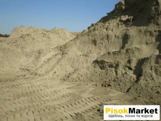 Сипучі будматеріали відсів щебінь пісок Луцьк