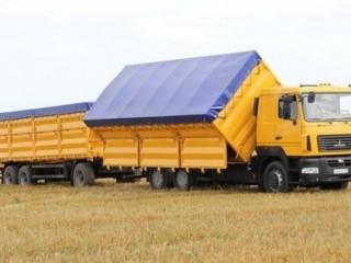 Услуги перевозки зерновых. Перевозка зерна.