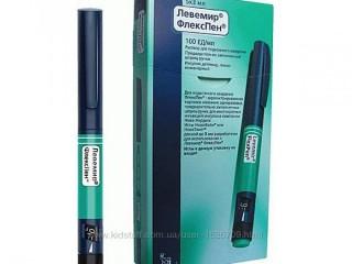 Левемир флекстач шприц ручка инсулин Срок годности 10.2021 г. Постоянно в наличии. 160 грн