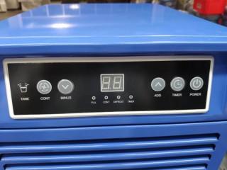 Мобильный промышленный осушитель воздуха Maxton MX-50L - для борьбы с излишней влаги в помещении