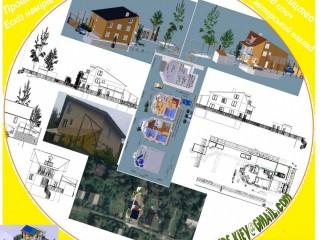 Проектування дома ескіз намірів забудови будівництво під ключ,енергоефективні,енергонезалежні котеджі раціональні проекти,