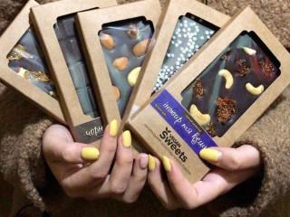 Шоколад ручной работы, полезный, без сахара, веганский Vegan-Sweets