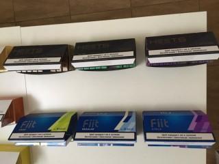 Продам оптом, а также поблочно табачные стики с украинским акцизом HEETS (12вкусов) и Fiit (3 вкуса)